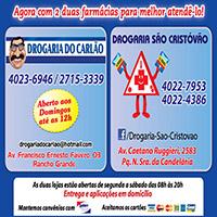 DROGARIA CARLÃO / DROGARIA SÃO CRISTÓVÃO