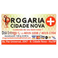 DROGARIA CIDADE NOVA